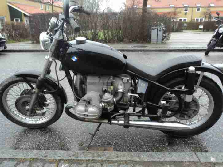 BMW Bobber/Chopper BMW R 60 - BMW R 80 Technik !