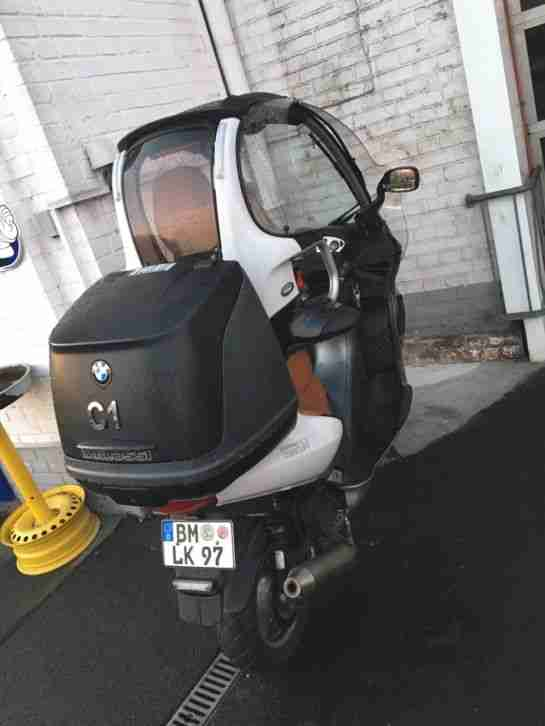 bmw c1 125 ccm executive scheckheft zach bestes angebot. Black Bedroom Furniture Sets. Home Design Ideas