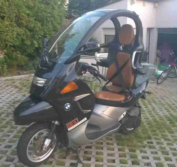bmw c1 motorroller bj 2000 13510 km schwarz bestes. Black Bedroom Furniture Sets. Home Design Ideas