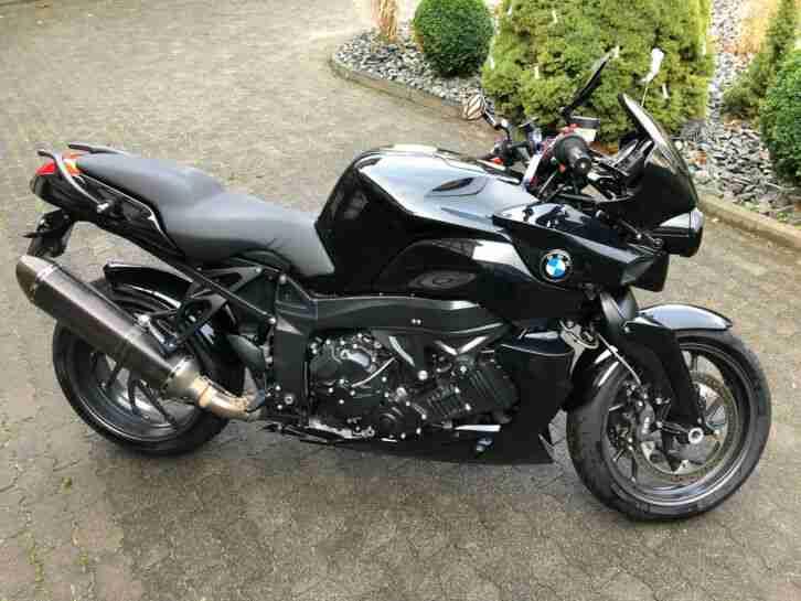 BMW K1200R # schwarz # Akrapovic # ABS NEU # Inspektion NEU