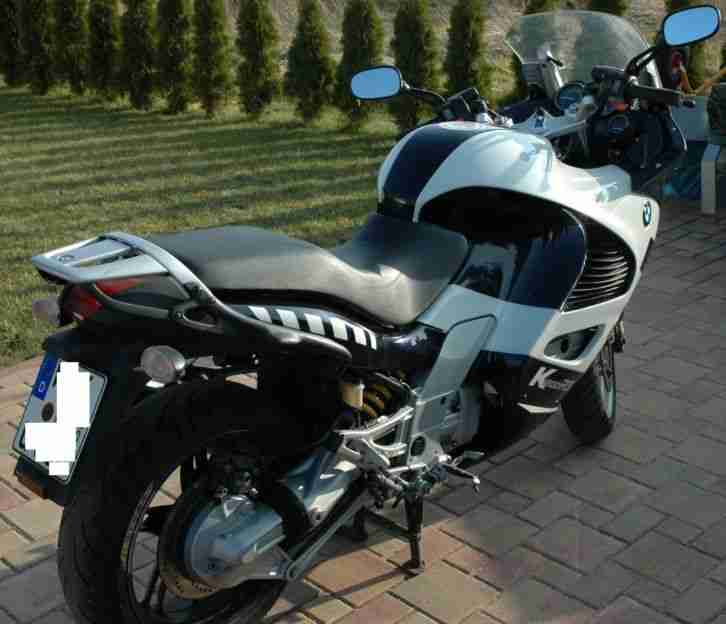 BMW K1200RS, Williams Sonderlack, ABS mit EVO-Bremse
