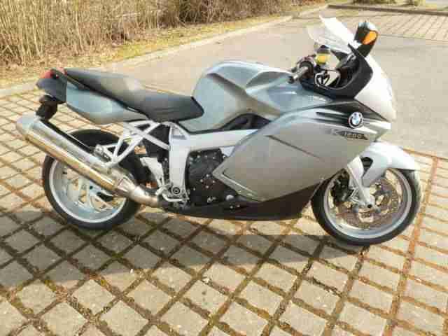 BMW K1200S EZ 03 05, Scheckheft BMW gewartet, 110 tsd km; TÜV 04 18 fahrbereit