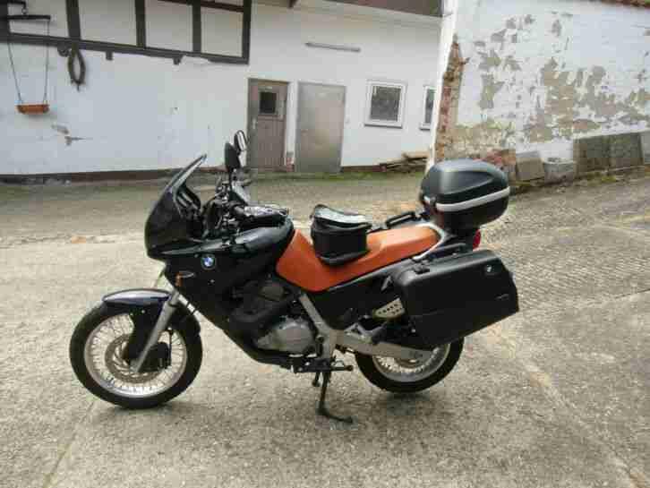 BMW Motorrad F 650 mit Koffer Topcase Navi und Tankrucksack alles OK