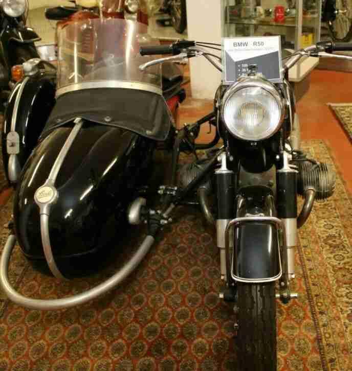 BMW Motorrad R50 mit Steib Seitenwagen Bj. 1966