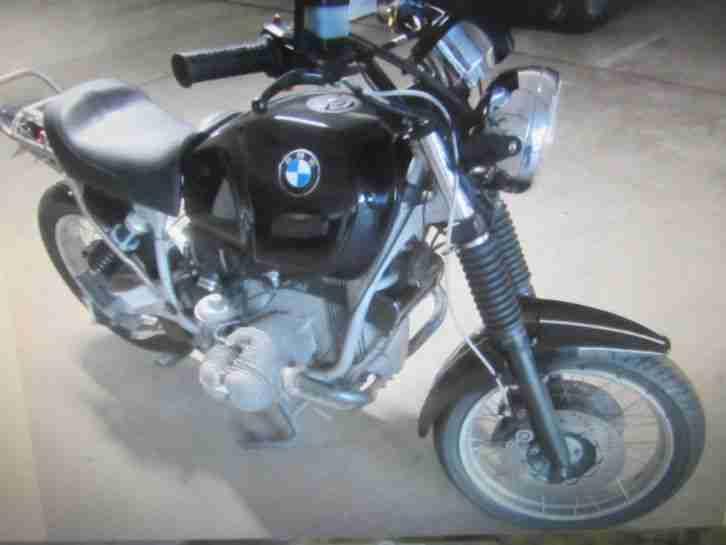BMW R 100R Gletterheck