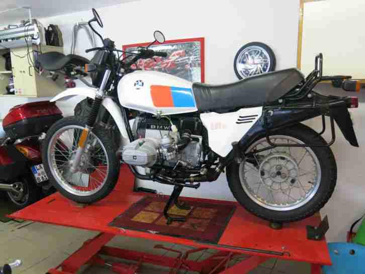 bmw r65 typ 248 polizei motorrad bestes angebot von bmw. Black Bedroom Furniture Sets. Home Design Ideas