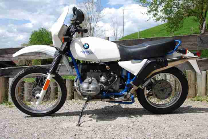 BMW R 80 GS Basic Siebenrock