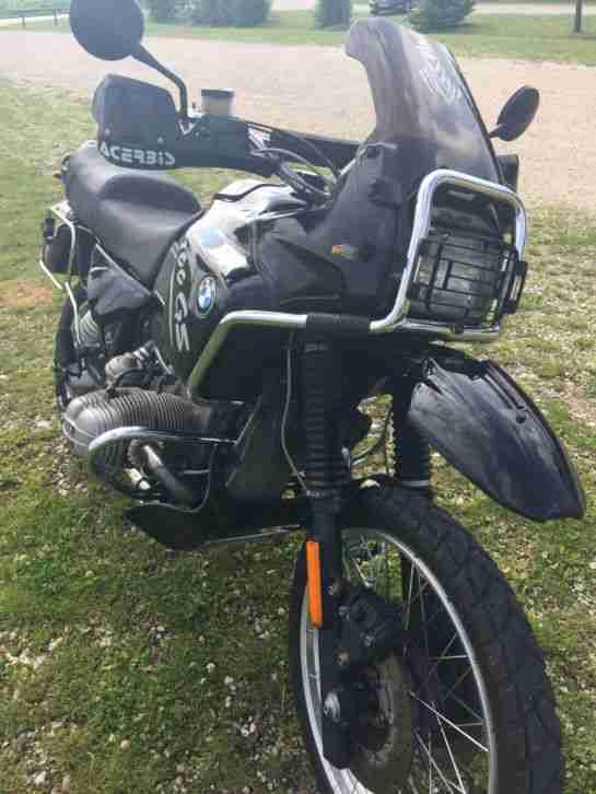 BMW R100GS PD Classic schwarz viele Extras 60PS TÜV neu!