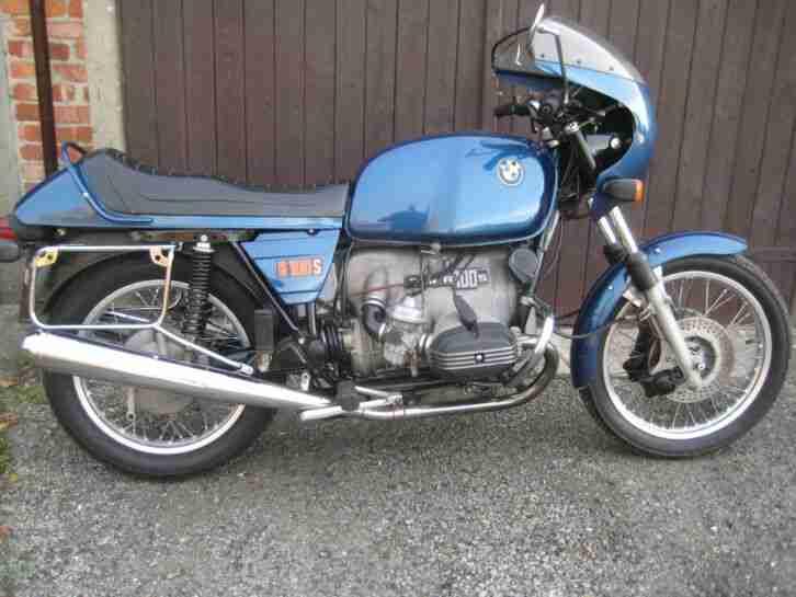 BMW R100S Oldtimer Motorrad von 1977