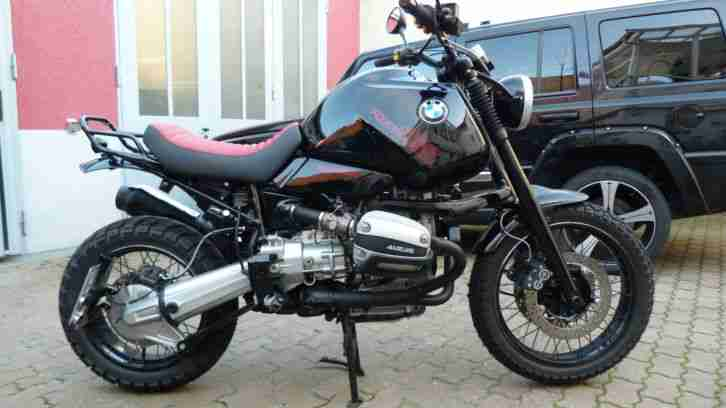 BMW R1100GS Soloumbau Custombike Top Zustand