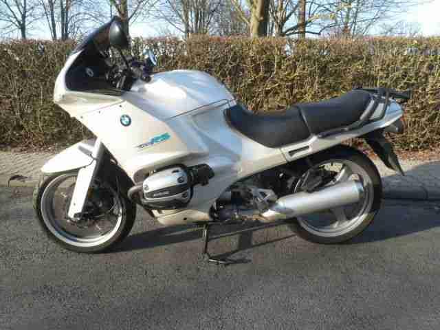BMW R1100RS perlsilber EZ 03 94, ABS,Heizgriffe, TÜV auf Wunsch neu,Kofferhalter