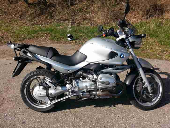 bmw r1150r silber mit topcase und koffer bestes angebot. Black Bedroom Furniture Sets. Home Design Ideas