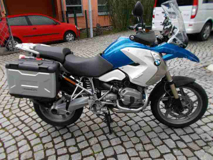 bmw r1200gs komplettausstattung safety touring bestes. Black Bedroom Furniture Sets. Home Design Ideas