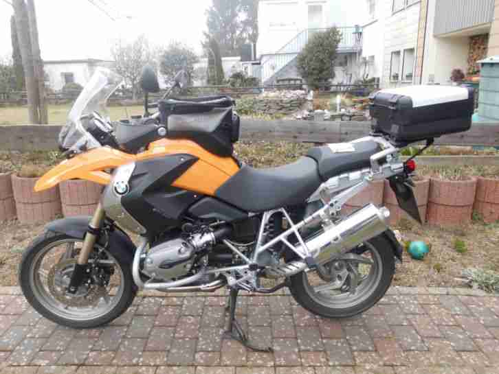 bmw r1200gs ein sahnest ck gelaufen 18886 km bestes. Black Bedroom Furniture Sets. Home Design Ideas