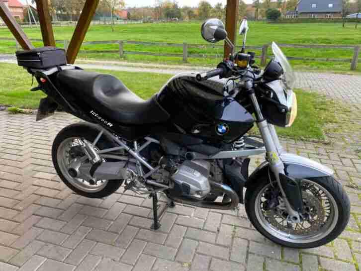 BMW R1200R Classic um und unfallfrei, 08.2013, seit 1.Km in einer Hand