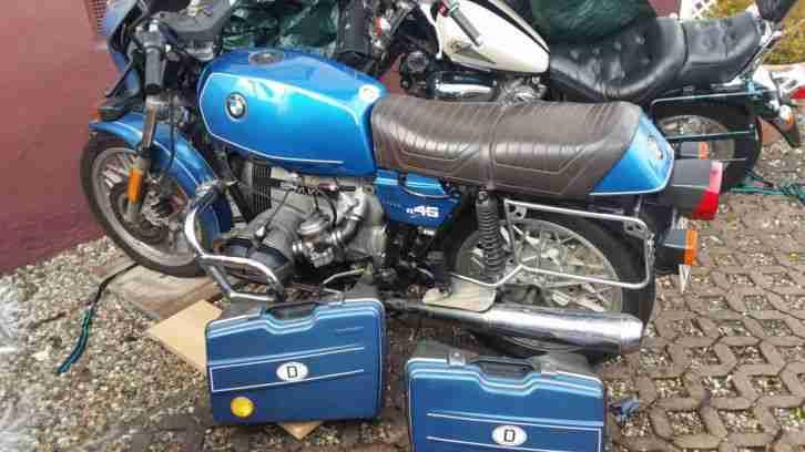 bmw r45 blau 1978 motorrad mofa mokick oldie bestes. Black Bedroom Furniture Sets. Home Design Ideas