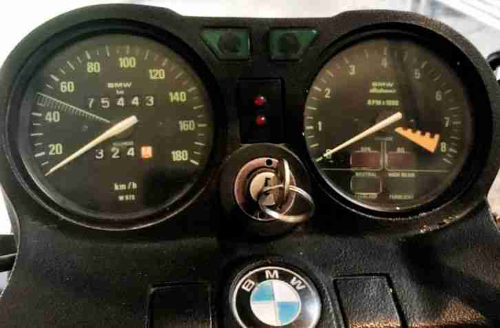 BMW R45 TÜV 6 2020 Kult Klassiker Extras