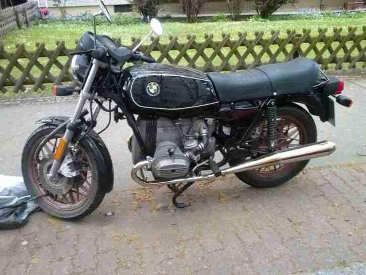 BMW R65 Motorrad Bj,79, Zugel. als Oldie, Steuer 46€, Vers. 40€