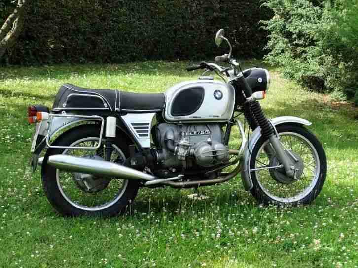 BMW R75 5 Oldtimer Originalzustand R75 5 (R 60 75)