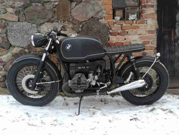 BMW R75 7 Cafe Racer Tracker Bobber Custom