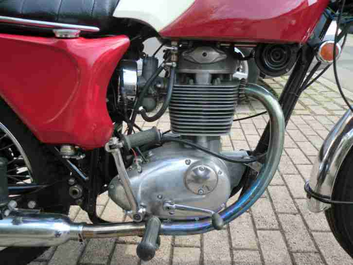 BSA B44 Shooting Star, komplett restauriert