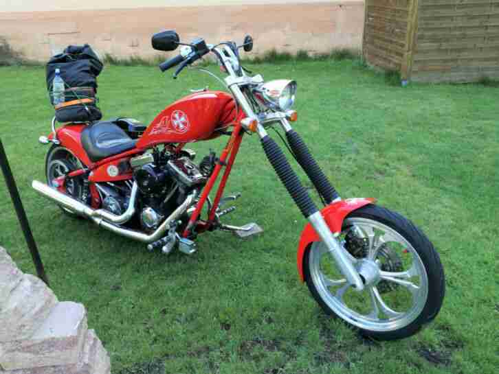 Bj.2007 Custombike American Ironhorse Judge S&S Motor 1852 ccm ,RSD 6 Gang