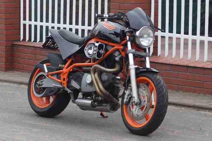 BUELL XB12 SCG BJ2008 schwarz matt - Topseller Harley