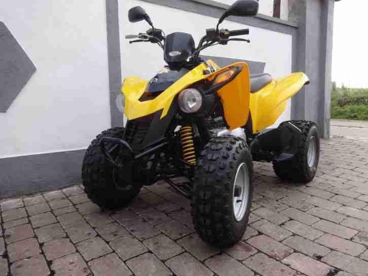 CAN AM Quad BOMBADIER TOP erst 2650 Km ATV DS 250
