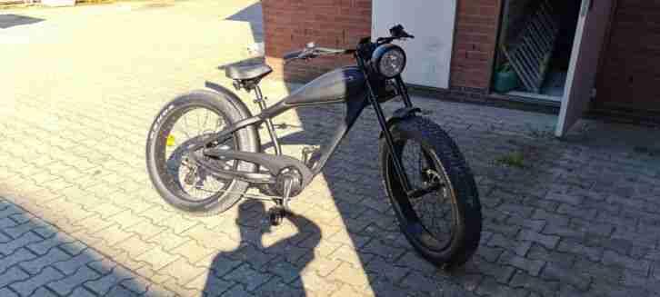 Cafe Racer E Bike