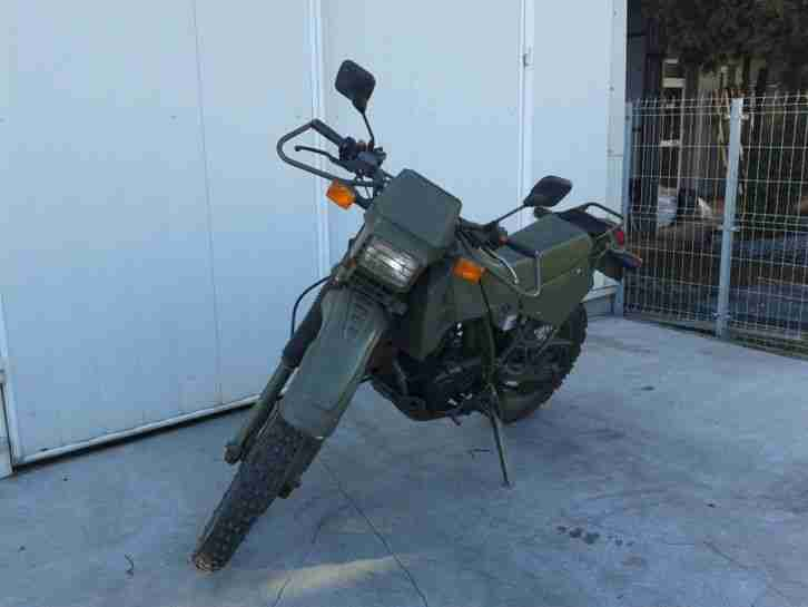 Cagiva T4E 350 ex French Army bike low millage: 17688km 1992 registered