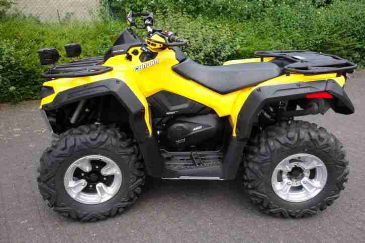 Can Am Outlander L 450 DSP