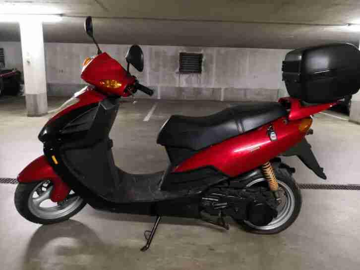 China Roller Scooter 150 ccm KinRoad Wind Hunter zum herrichten!