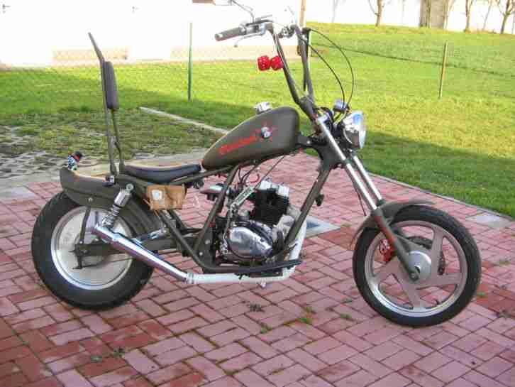 chopper bobber custom bike mit 125 ccm preis bestes angebot von sonstige marken. Black Bedroom Furniture Sets. Home Design Ideas