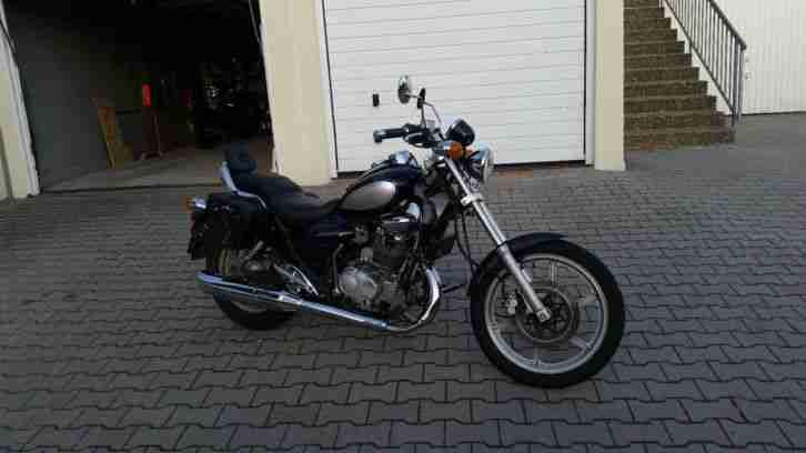 chopper cruser kymco zing 125 motorrad moped bestes. Black Bedroom Furniture Sets. Home Design Ideas