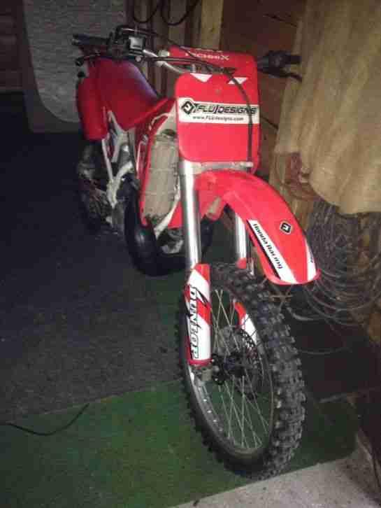 Cross Motorrad Honda Cr250