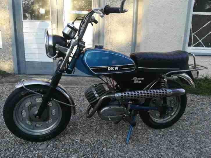 DKW 695 wie Hercules Sportbike Kleinkraftrad Oldtimer Motorrad