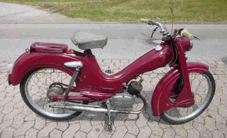 dkw hummel moped 1958 zweirad union bestes angebot von. Black Bedroom Furniture Sets. Home Design Ideas