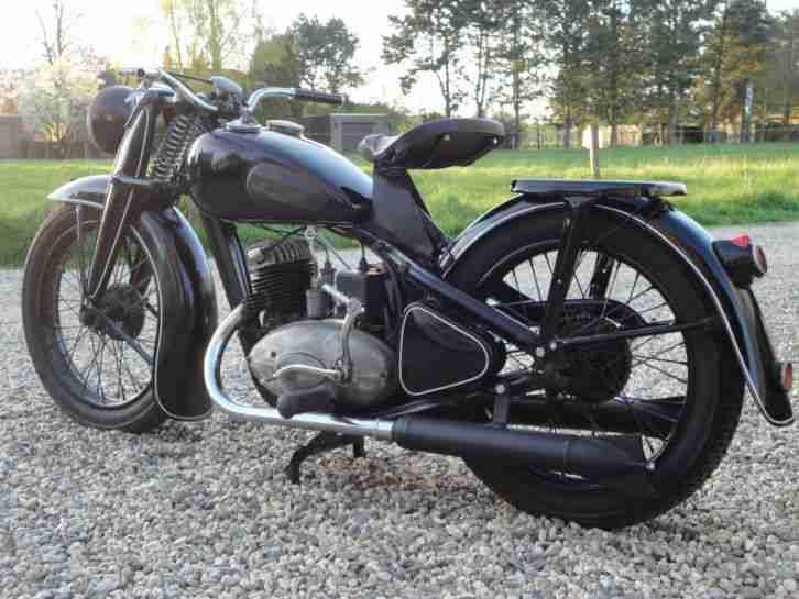 dkw nz 250 oldtimer motorrad 1938 rarit t bestes angebot. Black Bedroom Furniture Sets. Home Design Ideas