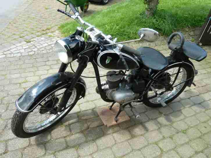 dkw rt 125 2 oldtimer motorrad kleinmotorrad bestes angebot von old und youngtimer. Black Bedroom Furniture Sets. Home Design Ideas