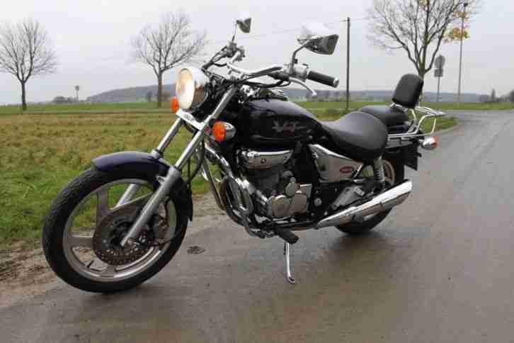 Daelim VT 125 evolution super schöner gepflegter Zustand von 1999 erst 9500km