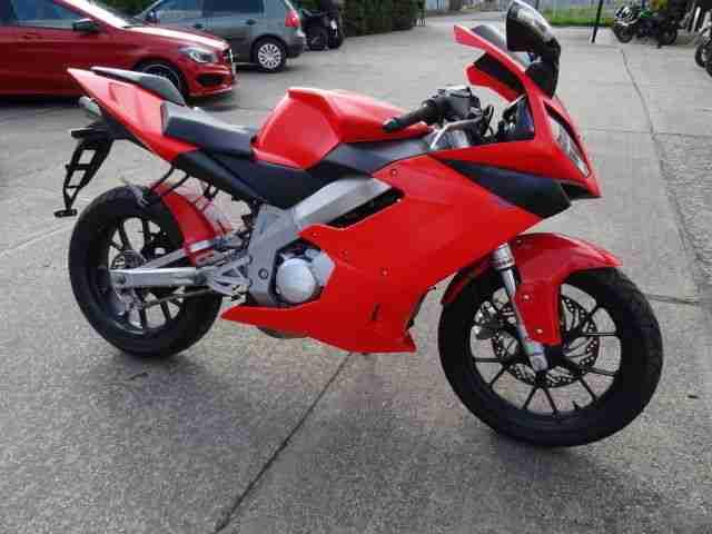 Derbi GPR 125 Unfallbike mit Yamaha TZR 2 Takt Motor