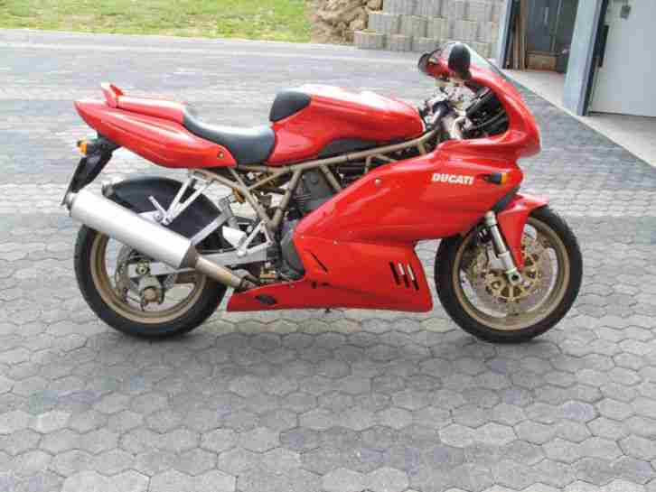 Auspuff Spark rond Hight mounting - Ducati 750 SS IE - 900
