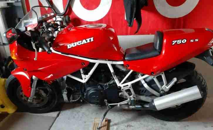 Ducati 750 SS Semi Carenata Original