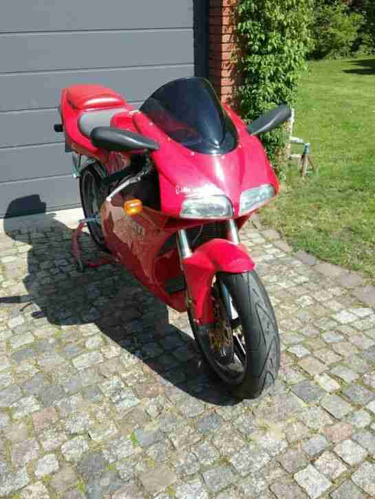 Ducati 998 Testastretta unfallfrei 1. Hand