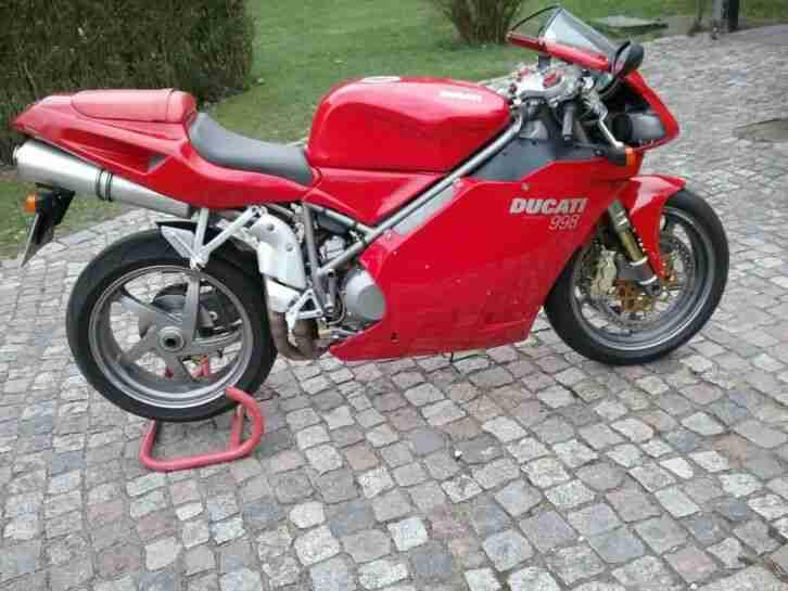 Ducati 998 rot 2002 58000 km unfallfrei