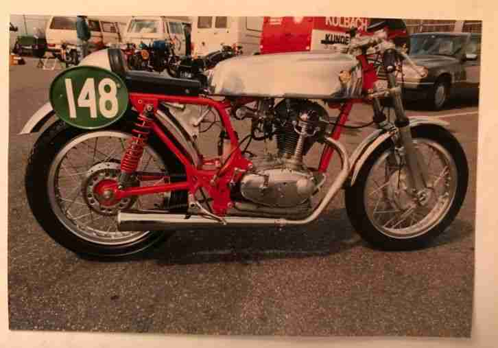 Ducati MK III, 350ccm Rennmotorrad Bj 1968 Mit VFV Fahrzeugpass