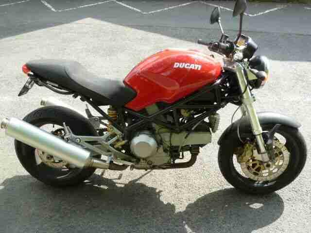 Ducati Monster 900 i.e. EZ 03 02, erst 19878 km, TÜV neu, sofort fahrbereit