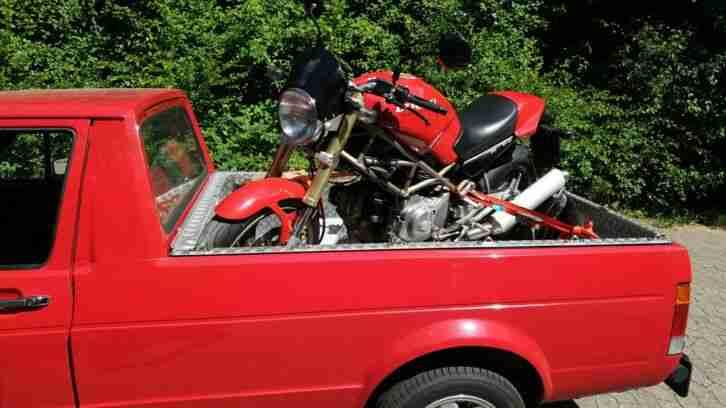 Ducati Monster M 600 sehr gepflegt rot heisse Optik
