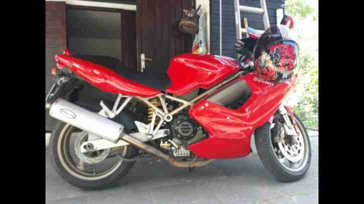 Ducati ST 4 S2 916ccm Motorrad Sport Tourer Marving Auspuffanlage
