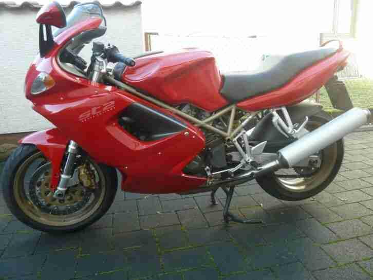 Ducati ST2,ein Traum in rot!